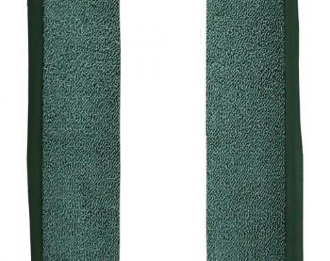 ACC  Chevrolet Chevelle Door Panel 5 Inch Inserts 2pc Loop Carpet, 1964-1967