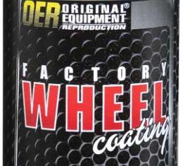 "OER Nevada Silver ""Factory Wheel Coating"" Wheel Paint 16 Oz Can K89345"