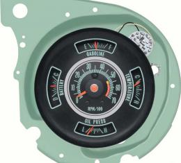 OER 1969 Chevelle Tachometer/Gauge Cluster With 5500 RPM Redline 6491313