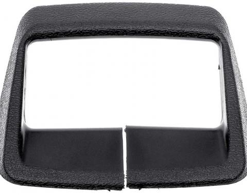 OER 1974-80 Shoulder Harness Seat Belt Retainer - Black - Various Models 1708118