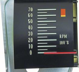 OER 1968 Chevelle Tachometer With 6000 RPM Redline 6468823