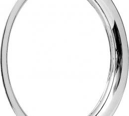 """OER 15"""" Stainless Steel 1-1/2"""" Deep Round Lip Rally Wheel Trim Ring for OE Wheels Only TK3015"""