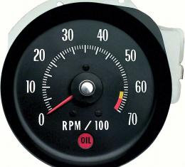 OER 1971 Chevelle SS/Monte Carlo SS Tachometer 6500 RPM Red Line 5657407