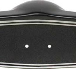 OER 1969-70 Steering Wheel Shroud Black With Silver Trim 3939760