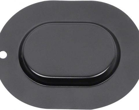 OER Oval Metal Floor Pan / Trunk Pan Plug 1667194