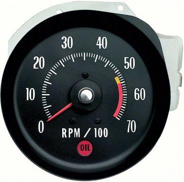 OER 1971-72 Chevelle/Monte Carlo Tachometer 5500 RPM Red Line 5657406