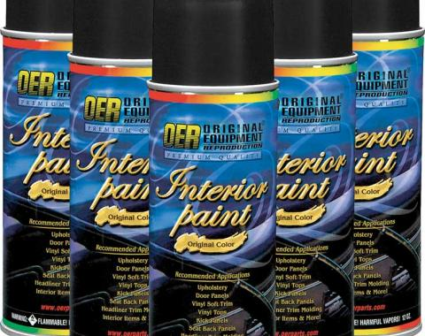 OER Gray Restoration Carpet Dye - Case of 6 - 12 Oz Aerosol Cans *PP907