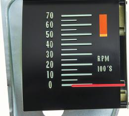 OER 1968 Chevelle Tachometer With 5000 RPM Redline 6468821