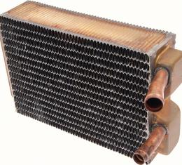 "OER 1963-67 Chevrolet Impala/Full-Size W/ AC - Copper/Brass Heater Core (9-1/2"" X 6-3/8"" X 2-1/2"") 3157459"