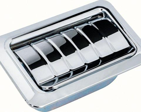OER 1967-76 Rear Quarter Ash Tray Assembly With Ribbed Lid 8801663