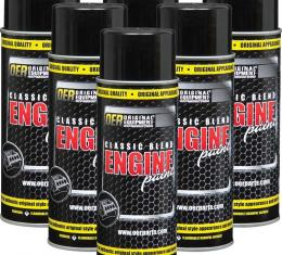 OER GM Strato Blue Metallic Classic Blend Engine Paint Case Of 6 16 Oz Cans *K89141