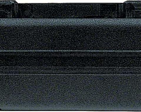 F-Body Armrest Base, Right Front, Black, 1968-1972