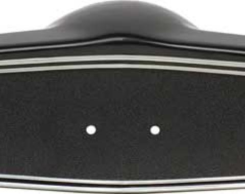 OER 1969-70 Steering Wheel Shroud Black With Silver Trim 3939760