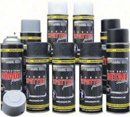 OER Gray and White Trunk Refinishing Kit with Self Etching Gray Primer *K51495