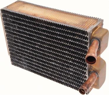 "OER 1963-67 Chevrolet Impala/Full-Size W/ AC - Copper/Brass Heater Core (9-1/2"" X 6-3/8"" X 2-1/2"") 3157459"