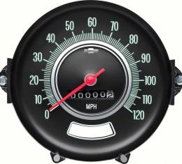 OER 1969 Chevelle Speedometer W/O Speed Warning 6492542