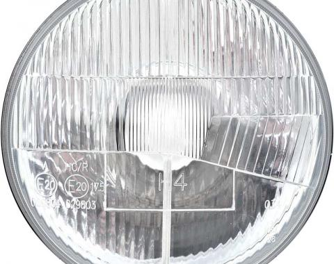 7'' Halogen Headlight Bulb Conversion with Classic Convex Lens