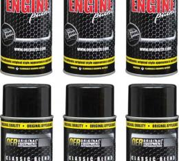 OER 1966 - Earlier Spectra Red Classic Blend Engine Paint Case Of 6 16 Oz Cans *K89151