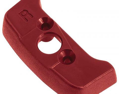 OER 1974-92 Seat Belt Shoulder Belt Guide Escutcheon - RH - Firethorn Red 20552361