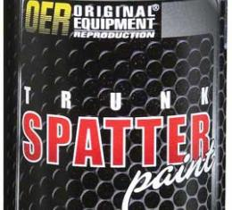 OER Black and Gray Trunk Spatter Paint 11 Oz. Net Weight K51496