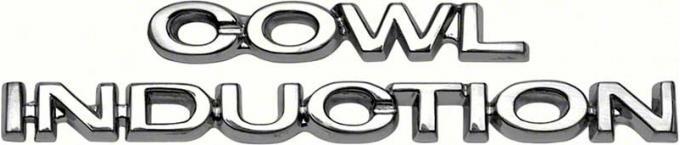 OER Cowl Induction Hood Emblem Set K194