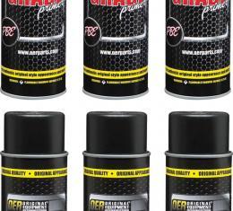 OER Black Professional Grade Self Etching Sanding Primer Case of 6 - 20 Oz Aerosol Cans *K89661