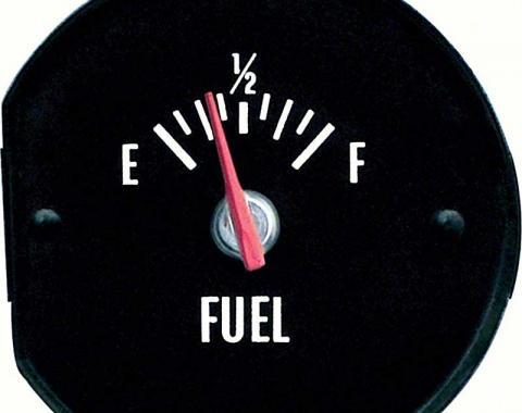 OER 1971-72 Chevelle ss/Monte Carlo Fuel Gauge White Markings 6431409W