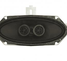 Custom Autosound 1968-1969 Chevrolet Chevelle Dual Voice Coil Speakers