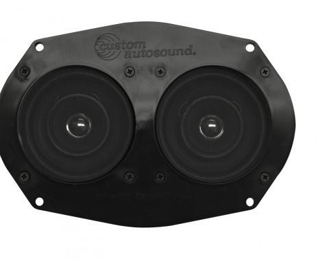 Custom Autosound 1970-1977 Chevrolet El Camino Dual Speakers