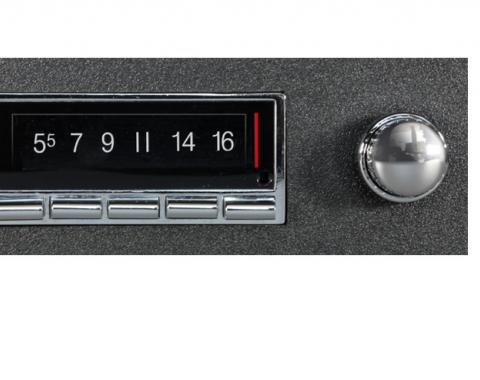Custom Autosound 1968 Chevrolet Chevelle USA-740 Radio