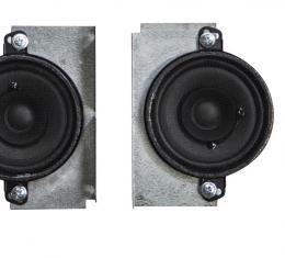 Custom Autosound 1969-1977 Chevrolet Chevelle Dual Speakers