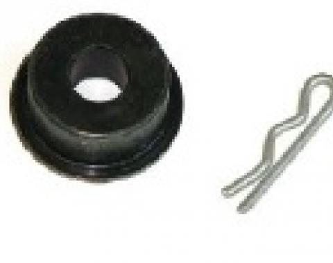 Cutlass 4 Speed Z-Bar Bushing and Clip, 1969-1971