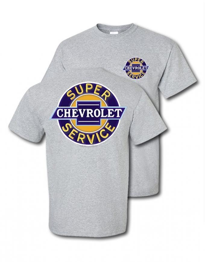 "Chevrolet ""Super Service"" Neon Sign T-Shirt"